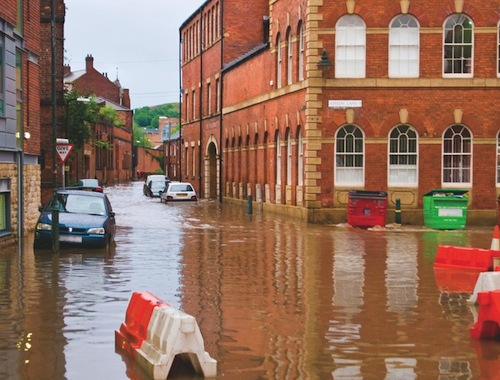 Flooding and old buildings