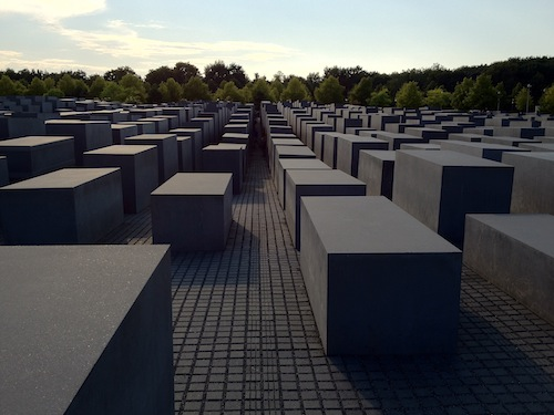 Berlin's concrete memorial