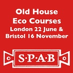 SPAB Old House Eco Courses London and Bristol
