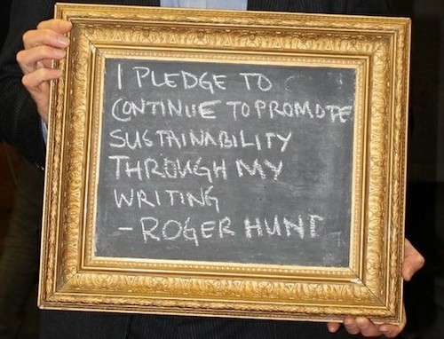 Roger Hunt Fit For the Future pledge