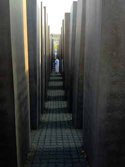 Berlin Memorial to the Murdered Jews in Europe interior