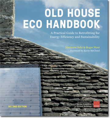 The second edition of Old House Eco Handbook by Roger Hunt